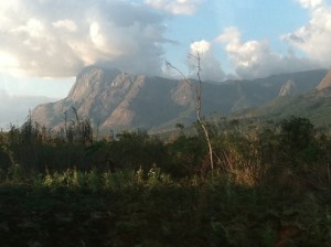 Mount Mulanje! Beautiful and majestic!