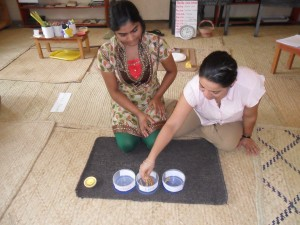 Priya and Evone Azraa demonstrating Morning Circle and History! Yahoo!