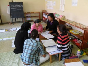 Small group work is fun and a great learning method! And it is a great way to make new friends too!