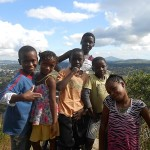 Top of Nyambadwe Hill with Neighborhood Kids on Good Friday